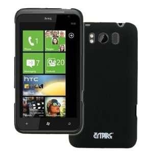 EMPIRE HTC Titan Black Stealth Rubberized Hard Case Cover