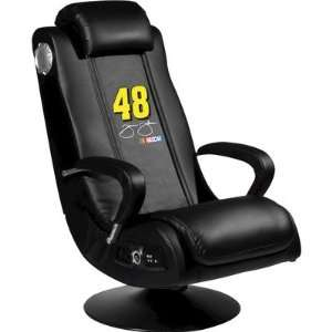 Video Game Rocker with NASCAR Logo Panel Team Jimmie Johnson 48