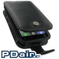 PDair Genuine Leather Flip Case for Motorola DEFY MB525