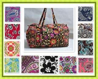 Bradley large Duffel MULTI COLORS Mothers Day Gift Handbag Weekend