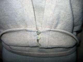 MAXMARA Beige Wool/Cashmere Cardigan, Camisole & Fox Fur Collar Size