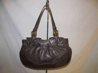 Darling Moschino Brown Leather Purse / Handbag w Bows