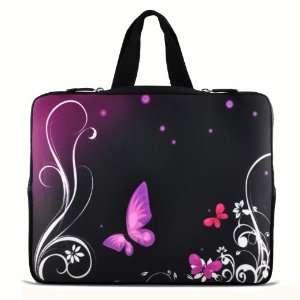 Purple Butterfly 9.7 10 10.1 10.2 inch Laptop Netbook