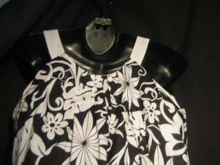 LONDON TIMES PETITES black white dress   Women 8P