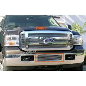 05 07 FORD F250 F550 1 PC BUMPER BILLET GRILLE: Automotive