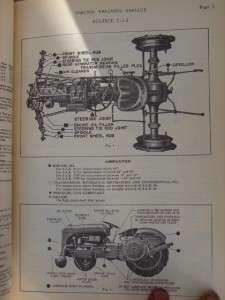 & Equipment Locomotive Service Manuals ~ Deere, Ford, Oliver, Case