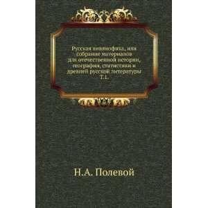 Russkaya vivliofika, ili sobranie materialov dlya