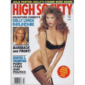 HIGH SOCIETY MAGAZINE (APRIL 1991 JULIA PARTON): HIGH SOCIETY