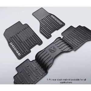 Mopar 82209552 OEM Dodge Ram Slush Style Floor Mats   In