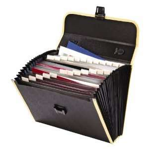 Globe Weis 26 Pocket Case File, 3.5 Inch Expansion, Legal