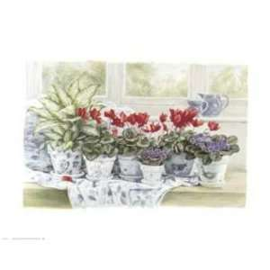 Joseph Mallord William Turner   Windowsill Garden Canvas
