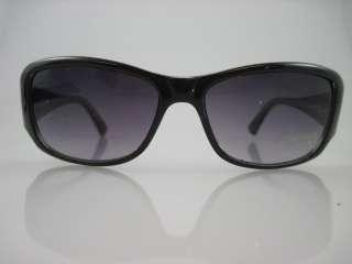 NEW MICHAEL MICHAEL KORS Black Gray Plastic Sunglasses