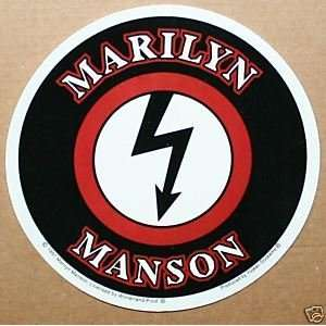 Manson   Round Arrow Logo   Vinyl Sticker / Decal MMS