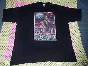 Mario Super Hustla T Shirt 3XL XXXL 3X Money Game Bling