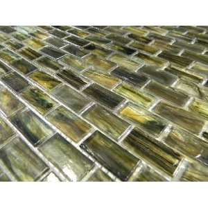 Glass Brick Pattern Mosaic Tile Wall Border Backsplash | eBay
