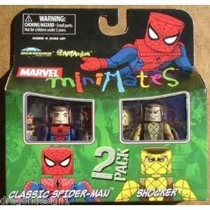 Marvel MiniMates Series 24 Mini Figure 2 Pack Classic Spider Man and