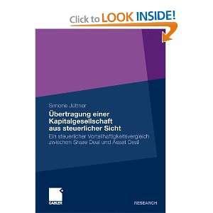 9783834920652) Simone Jüttner, Prof. Dr. Wolfram Scheffler Books
