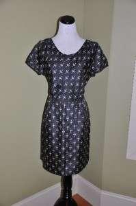 CREW Souvenir Ikat Print Dress 2 $148 Faded Black NEW Short SOLD OUT