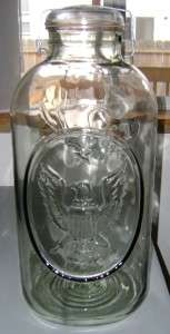 Gallon Commemorative Ball Ideal Eagle Canning Mason Jar WOW
