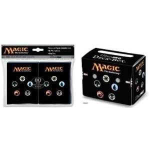 Magic the Gathering Official Deck Box & 80 Sleeves [Toy