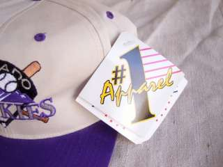 REAL Vtg NWT 90s COLORADO ROCKIES SNAPBACK CAP NEW Hat DS NOS ti$a NEW