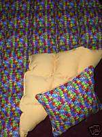 weighted AUTISM AWARENESS blanket SENSORY autism BEHAVIORAL insomnia
