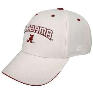 Alabama Crimson Tide White Inbound Hat
