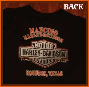 Mancuso Harley Davidson Motorcycles Houston T Shirt XXL