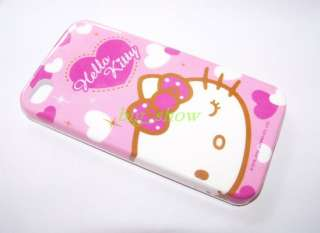Hello Kitty Hard Case Cover skin for apple iPhone 4 4G
