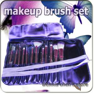 make up kit soft makeup brushes makeup brush set with roll up bag