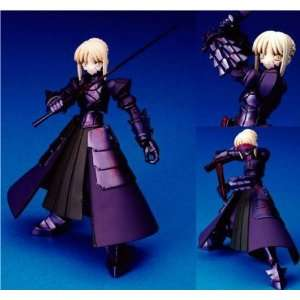 Fate Stay Night Black Saber Revoltech Action Figure Toys