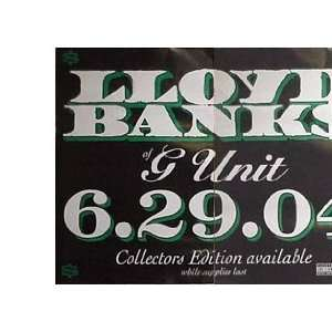 LLOYD BANKS PT 1 IN STORES 27x40 Poster