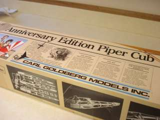 ANNIVERSARY EDITION PIPER CUB R/C MODEL AIRPLANE KIT **