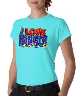 Love Bingo Ladies Tee Shirt
