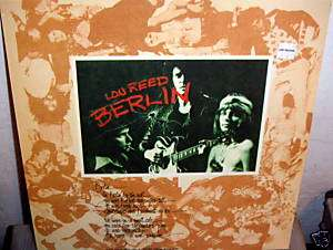 Lou Reed ~ BERLIN vinyl LP Import UK SEALED