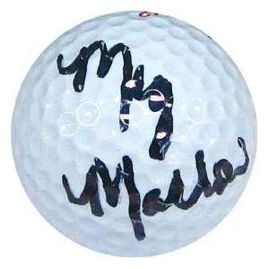 Meg Mallon Autographed / Signed Golf Ball Sports