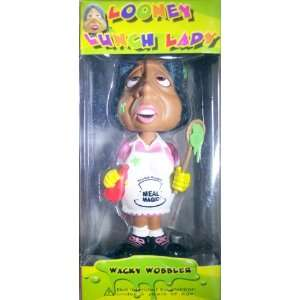 Looney Lunch Lady Bobble Head Toys & Games