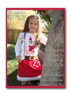 Angry Birds~Custom Boutique~Christmas Tee & Santa Rocks Skirt