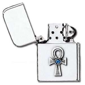 Egyptian Ankh of Eternal Life Gothic Petrol Lighter