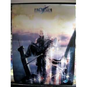 Final Fantasy 7AC Cloud Kadaj 60x90cm Wallscroll Toys & Games