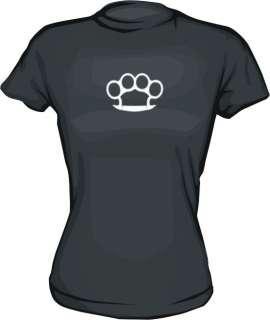 Brass Knuckles Logo WOMENS Shirt PICK Size Small XXL