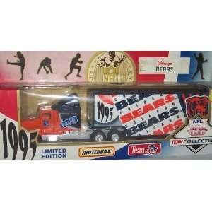 Bears 1995 NFL 1/87 Diecast Tractor Trailer Peterbilt Kenworth Truck