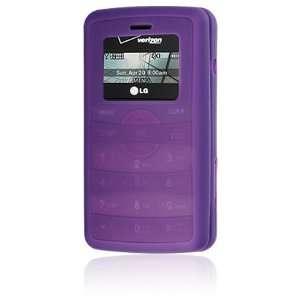 LG enV2 VX9100 Purple Premium Silicone Skin Case Cover