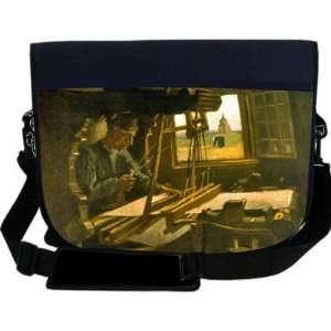 Van Gogh Art Open Window NEOPRENE Laptop Sleeve Bag Messenger