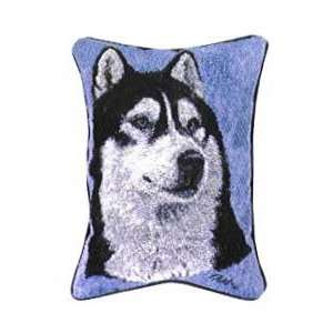 Siberian Husky Dogs Huskies Tapestry Couch Pillow