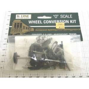 K Line K 4499 O Scale Heavyweight Wheel Conversion Kit