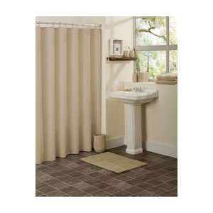 Elements Shower Curtain Taupe 72 x 72 inch Home & Kitchen