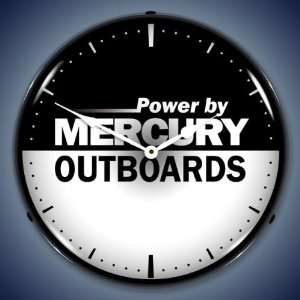 Mercury Outboard Lighted Clock: Everything Else