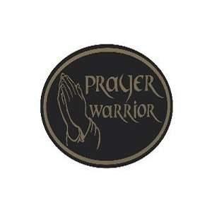 Euro Sticker Prayer Warrior Pack of 6
