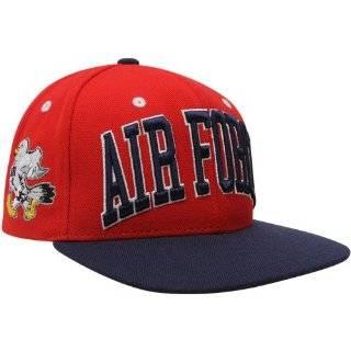 Zephyr Air Force Falcons Red Black Superstar Snapback Adjustable Hat